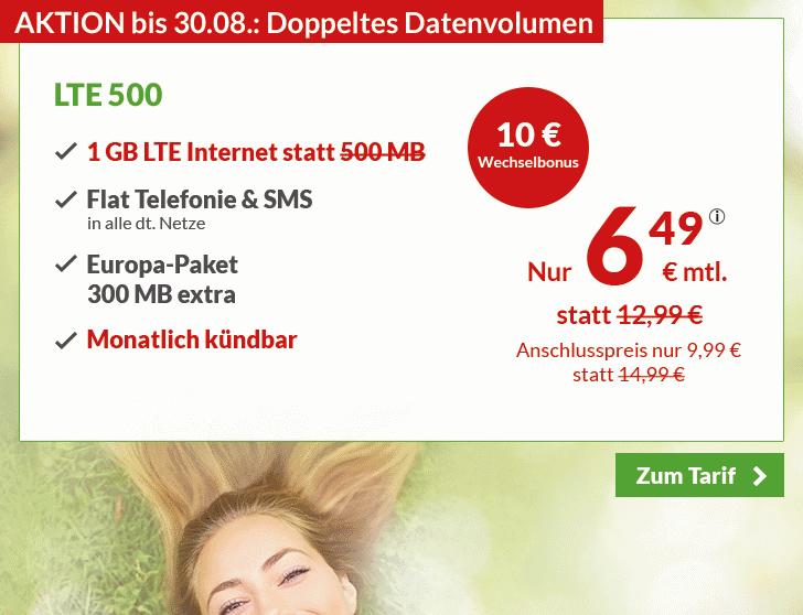 Die besten Handytarife - Günstiger Handyvertrag inkl. 1 GB LTE mit Allnet-Flatrate.png