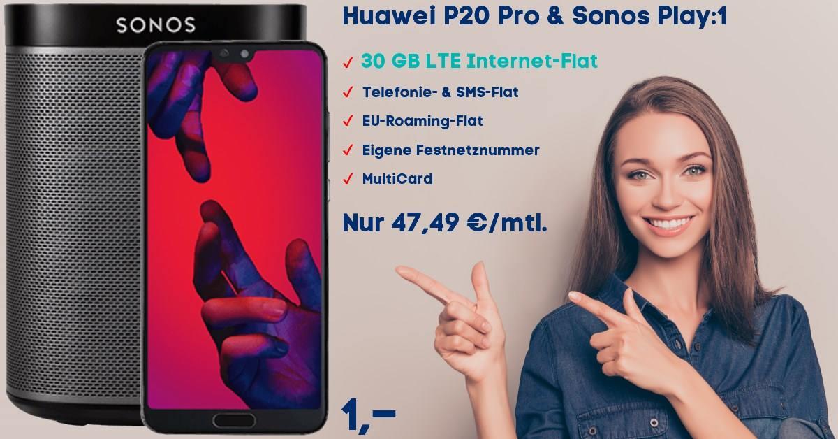 Die besten Handytarife mit Huawei-P20-Pro