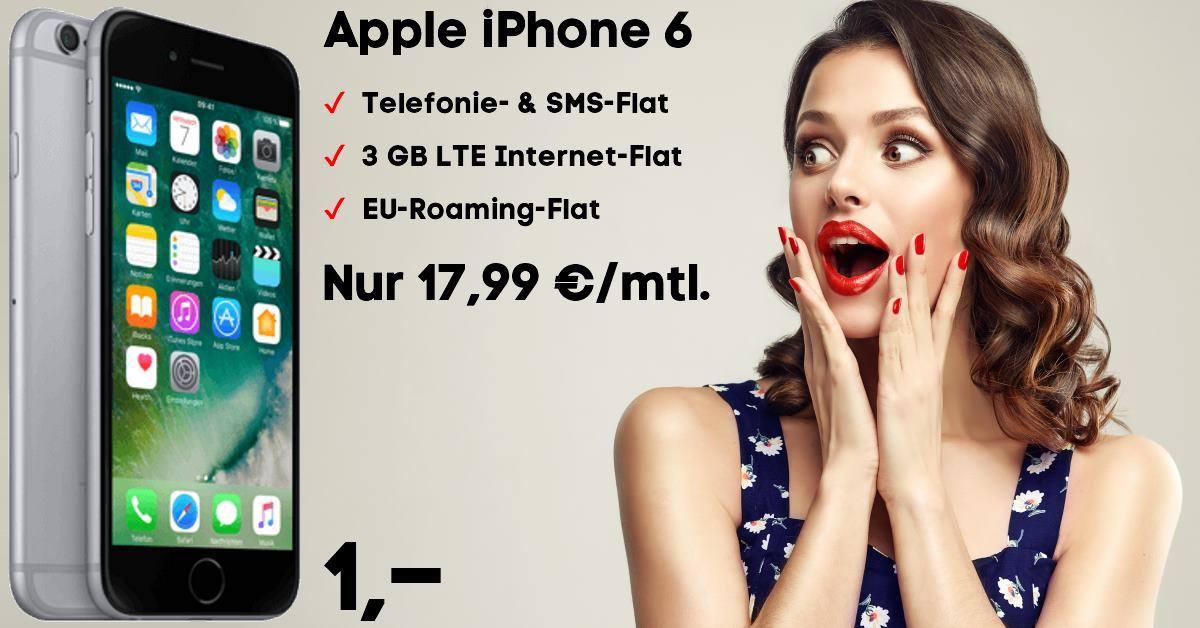 Die besten Handytarife mit iPhone 6